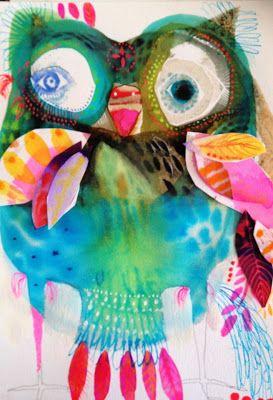 owl by jessie breakwell