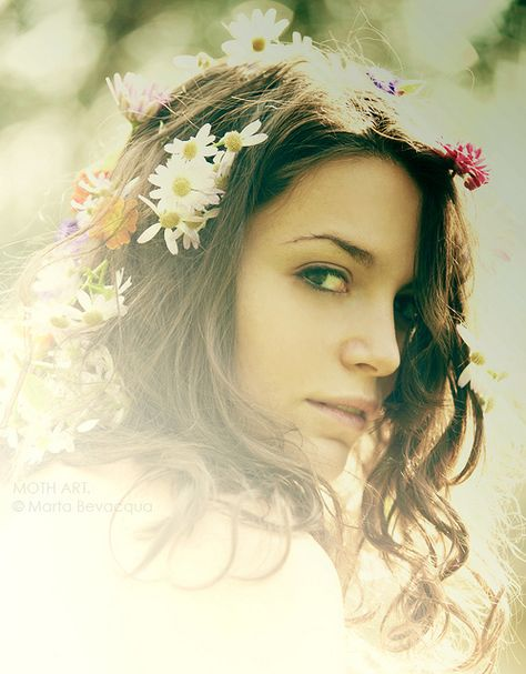 #Flowers in her #hair ☮k☮ your
