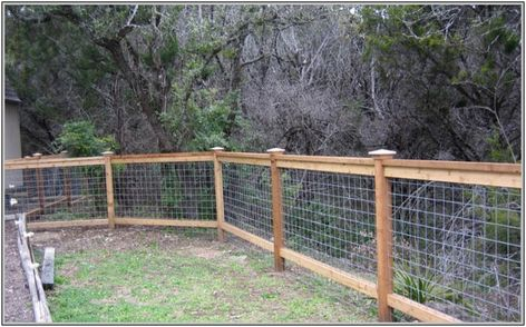 Cattle Panel Fence Wood