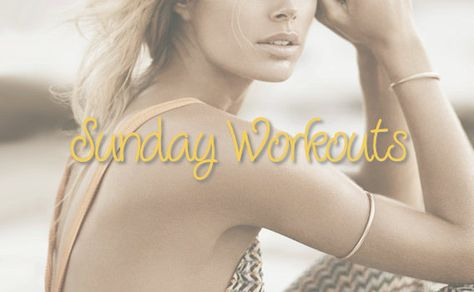Sunday Workouts: Sterke en slanke armen
