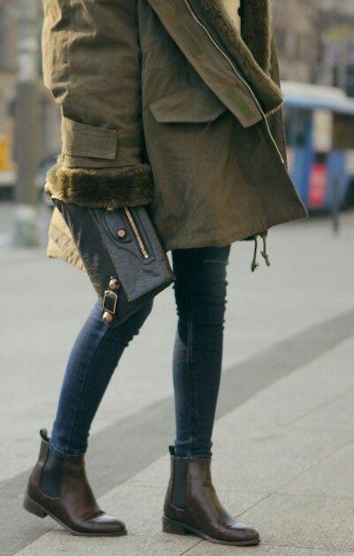 bottine chelsea femme porter