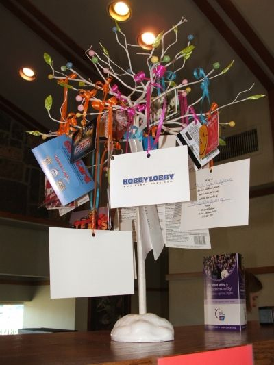 Fundraiser idea ask local businesses to donate small gift cards to fundraiser idea ask local businesses to donate small gift cards to sell silent auction and make a tree like this walk fundraising ideas pinterest negle Gallery