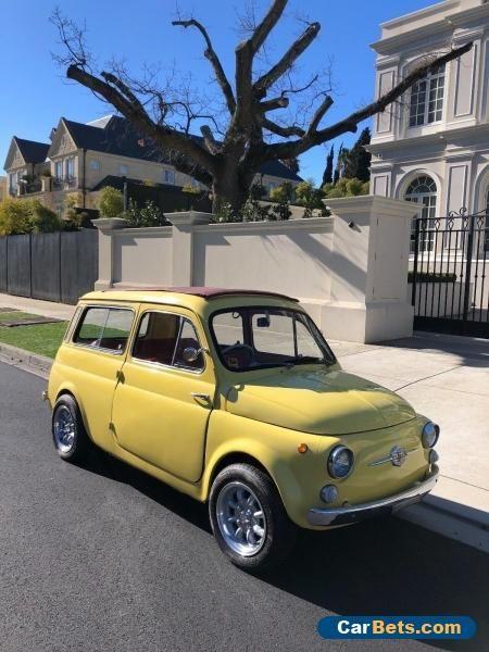 1963 Fiat 500 Giardiniera Wagon Abarth Forsale Australia