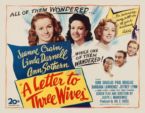 A Letter to Three Wives (1949)   IMDb | Jeanne Crain 1925 2003 in