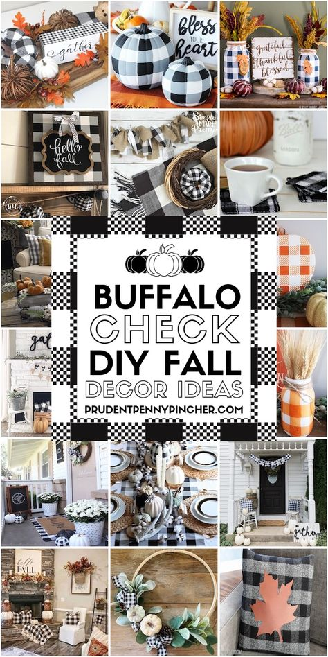 30 Buffalo Check DIY Fall Decor Ideas Source by decor ideas decor ideas for bedroom decor ideas for living room Fall Home Decor, Autumn Home, Diy Home Decor, Diy Crafts Home, Buffalo Check, Fall Crafts, Decor Crafts, Rustic Crafts, Christmas Crafts