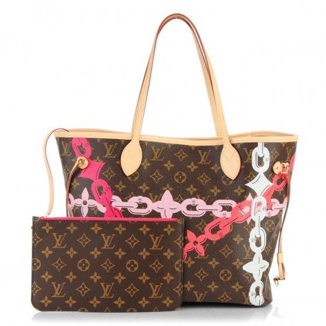 911e9e29cb0d This is an authentic LOUIS VUITTON Monogram Bay Neverfull MM in Rose  Ballerine and Poppy. This classic