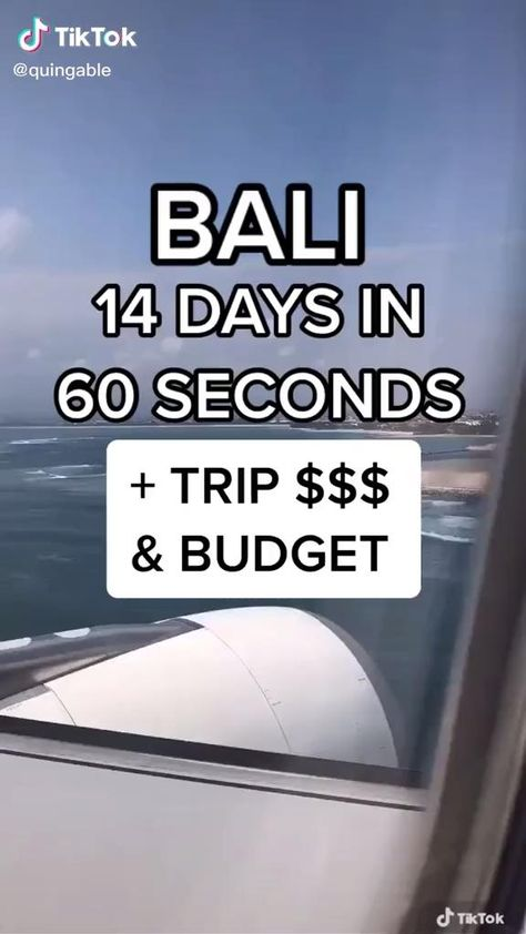 Beautiful Places To Travel, Best Places To Travel, Cool Places To Visit, Bali Travel Guide, Travel Tips, Travel Destinations, Travel Checklist, Vacation Trips, Vacations