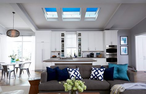 How Much Does It Cost To Install A Skylight Room Interior