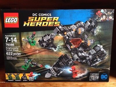 Lego Super Heroes 76086 Knightcrawler Tunnel Attack 622pcs Sealed Justice League