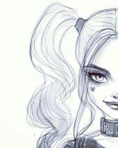 Harley Quinn   - Kunst Bilder - #Bilder #Harley #Kunst #Quinn,  #ArtSketchesdeep #Bilder #Harley #kunst #Quinn