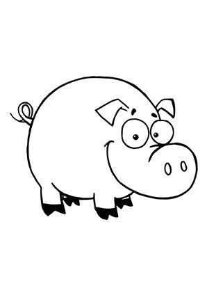 Ausmalbild Schwein Zum Kostenlosen Ausdrucken Und Ausmalen Fur Kinder Ausmalbilder Malvorlagen Ausmalen Sc Ausmalen Ausmalbilder Ausmalbilder Tiere