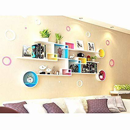 Modern Tv Wall Unit Designs For Living Room Elegant Amazon Shelf Zi Lin Shop Wall Racks Wall Creative Parti Wall Unit Designs Tv Wall Unit Modern Tv Wall Units Pictures for living room amazon