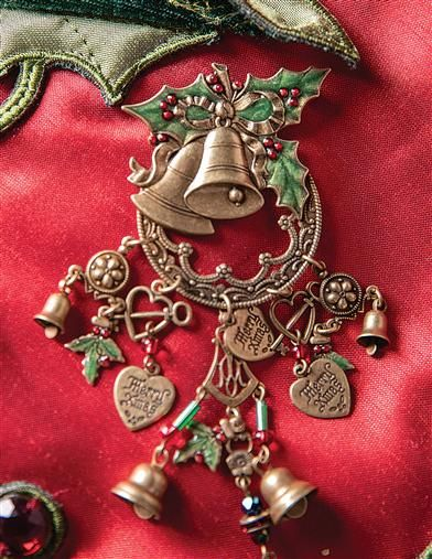 Christmas Bells Are Ringing 2021 Christmas Bells Are Ringing Brooch In 2021 Christmas Jewelry Holiday Jewelry Romance Jewelry