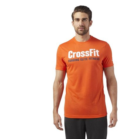 1ac3ce362e1df7 T-shirt Reebok Crossfit Speedwick F.e.f T-shirt Graphic - Taille    XS S M L XL