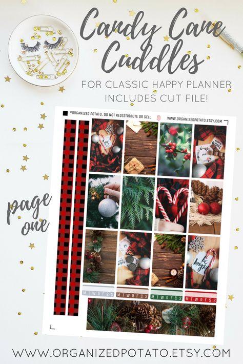 mistletoe Candy Cane Cuddles - Winter...