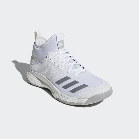 Crazyflight X 2.0 Mid Shoes White CP8898   Adidas volleyball