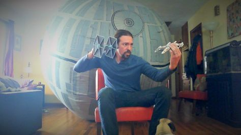 How to make a 12-foot inflatable Death Star!