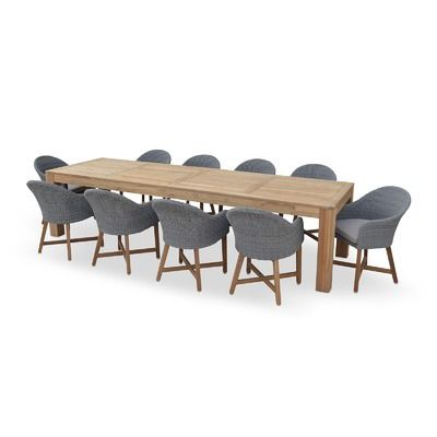 10 Seater Outdoor Teak Table