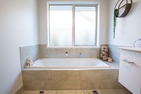 Simple Yet Stylish Built In Bath Bathroom Bath Bathtub Builtinbath Showhome Newhome Newhouse Hous Built In Bath Bathroom Remodel Cost Built In Bathtub