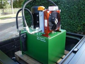 The Task To Re Engineer And Supply A More Efficient Hydraulic Power Pack As A Production Line Was Down Wi Power Pack Installation