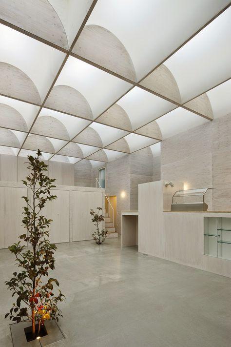 baja ringan lengkung megatruss global architecs engineer plafon desain