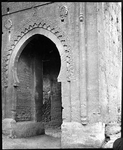 Porte De Ville Porte D Entree Cote Interieur 1913 Capitale Maroc Kenitra