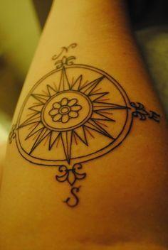 Rosa De Los Vientos Tatuajes Primer Tatuaje Tatuajes Y Tinta