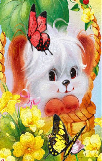 FEELING BLESSED — DOG AND BUTTERFLY'S