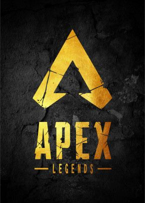 Apex Legend Logos Poster Print By The Exlucive Displate In 2020 Poster Prints Gaming Wallpapers Metal Posters