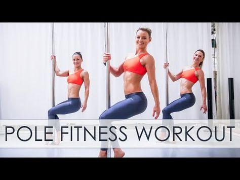 Pole Dance Workout Inspiration VOL.3 / LEVEL 2 - YouTube