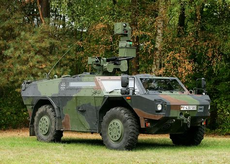 Fennek Light Armored Reconnaissance Vehicle (Germany)