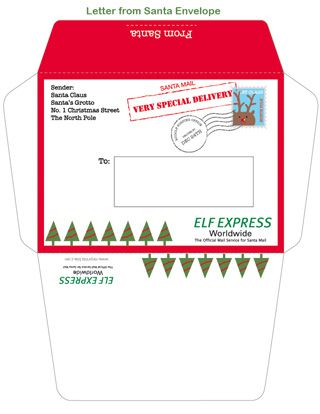 Printable Letter from Santa Mr Printables Christmas - christmas letter templates