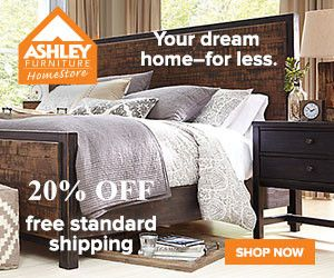 Ashley Promo Codes 2016 Take 20 Off Ashley Furniture Homestore Coupons And Discounts Free Standard Shipping Home Furniture Affordable Home Decor