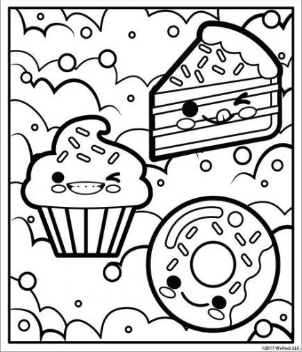 Best Diy Crafts For Kids Girls Food Coloring 29 Ideas In 2020 Candy Coloring Pages Kids Colouring Printables Cute Coloring Pages
