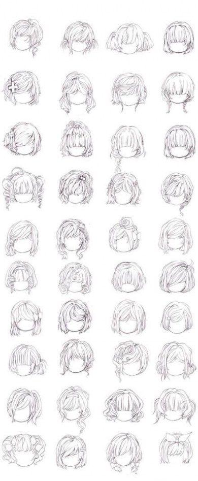 49 Ideas Hair Drawing Reference Bangs Manga Hair Drawing Hair Tutorial Anime Hair