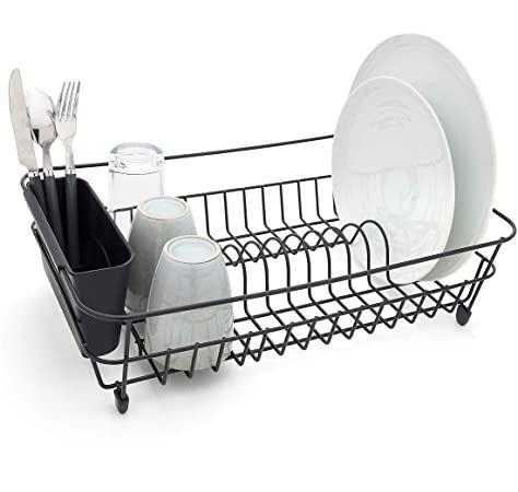 kitchen anti rust dish drainer rack