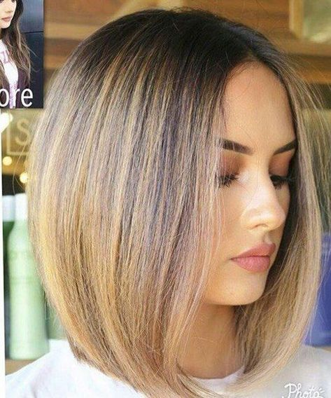 Tremendous Inverted Bob Soft Hairstyles For Glamorous Look 2019 -  - #frisuren