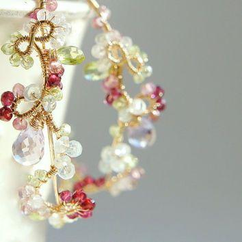 Best Large Gold Wire Hoop Earrings Products on Wanelo  27b89b8fd3