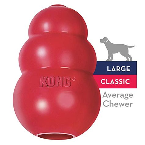 Pet Supplies Pet Chew Toys Kong Classic Dog Toy Large Red