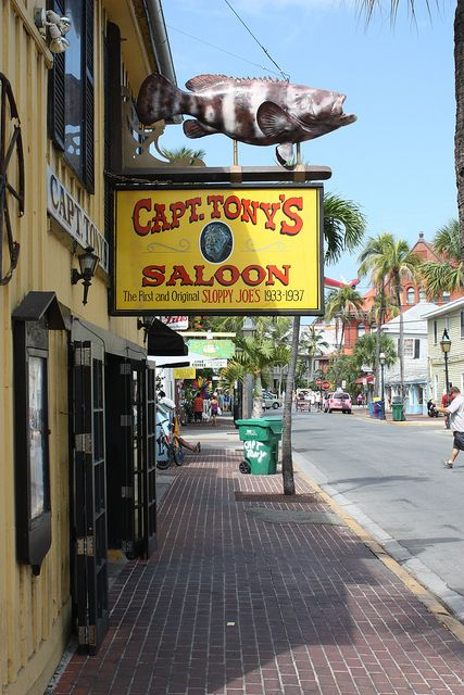 Key West, Florida: Captain Tony's Saloon. From the Jimmy Buffet song.