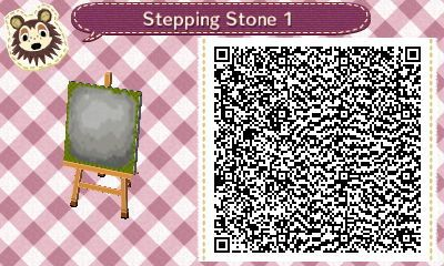 Floatingpresents Stepping Stone Qr Codes For Mid September