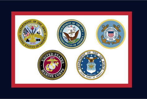 U S Armed Forces Flag Various Sizes Armed Forces Military Branches Military Veterans