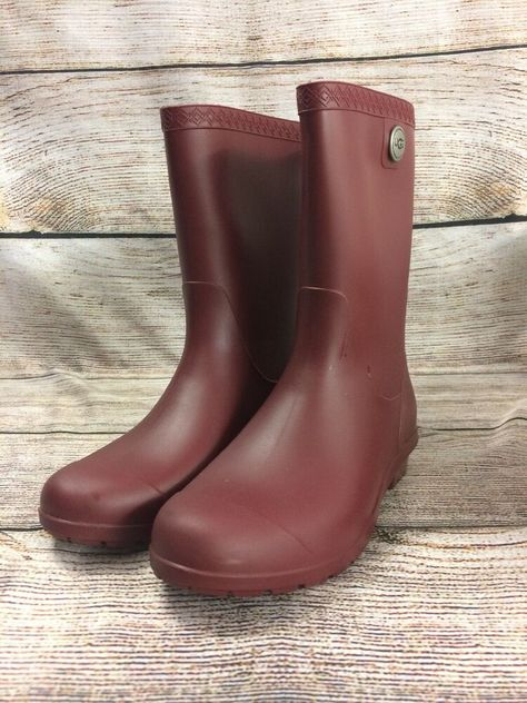 4a38a0ef218 BOGS Rain Boot Linen Rubber Boots Youth 5 #fashion #clothing #shoes ...