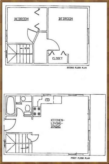 Image Result For Tiny House Floor Plans 10x12 Cabin Floor Plans Loft Floor Plans House Plan With Loft