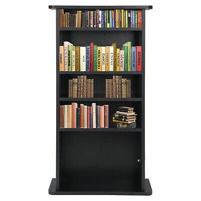 Media Storage Cabinet Game Dvd Movie Tower Stable Organizer Stand