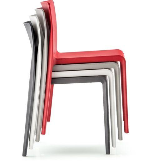 Chaise De Bar Empilable Moderne Sledge Mobilier Design Chaise