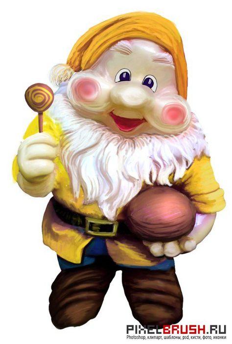Fabulous dwarves - the gnomes / Сказочные карлики - гномы ...