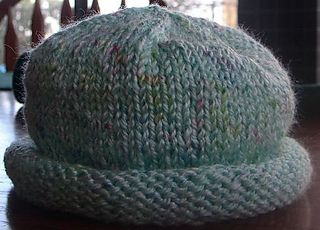 Ravelry Family Rolled Brim Hat Pattern By Sarah Bradberry Knit Hat With Brim Hat Knitting Patterns Double Knitting Patterns