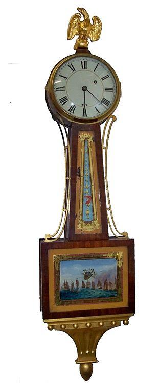 Presentation Banjo Clock Clock Antique Clocks Antique Wall Clock