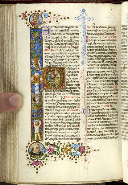 Piccolomini breviary, MS M.799 fol. 327v - Images from Medieval and Renaissance Manuscripts - The Morgan Library  Museum